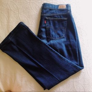 Levi's Relaxed Boot Cut 550 Denim Jeans